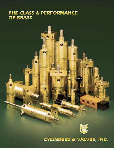 Cylinders & Valves, Inc. Web Catalog Cover